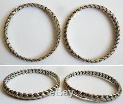 2 Former Silver Bracelet Solid Silver Bracelet 57 Ethnic Gr