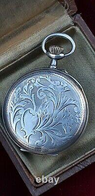Ancient 24h Magnien Military Pocket Watch - Co.