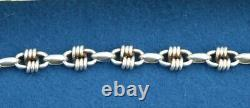 Ancient And Very Rare Hermes Bracelet In Solid Silver (925/ )