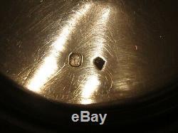 Ancient Pot Pouring Silver Pan Punch Old Decor Malmaison