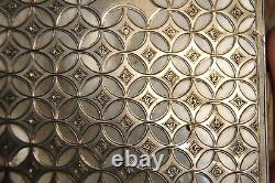 Ancient Silver Ball Notebook Massive Ancient Nacre Solid Silver Mother Of Pearl