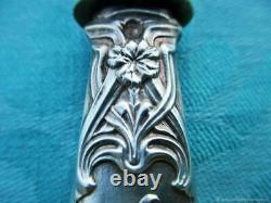 Ancient Spatula Service Knife Silver Eye Art Nouveau Franz Antique Knif