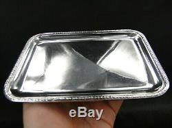 And Risler Carre Paris Very Nice Old Tray A Cards Sterling Silver Sterling