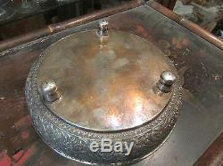 Antique Cut Solid Silver Extreme Orient Chine Punched