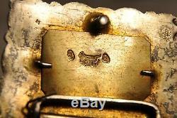 Antique Solid Silver Wedding Ottoman Belt Belt Sterling Silver Old 543g