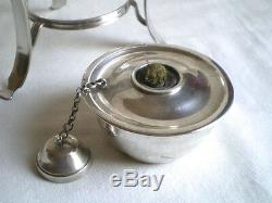 Beautiful Alcohol Stove Old Sterling Silver Odiot In Paris