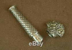 Bel Old Case A Needle Massive Silver
