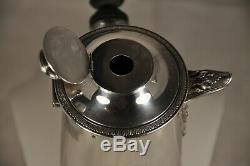 Chocolatiere Old Sterling Silver Antique Solid Silver Chocolate Pot MB Lefebvre