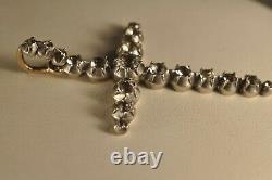 Cross Jewellery Regional Ancient Gold Massive Silver Antique Solid Gold Silver Cross XIX