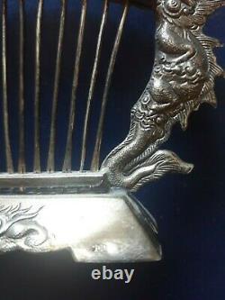 Door Peak Time Former Indochina Sterling Silver