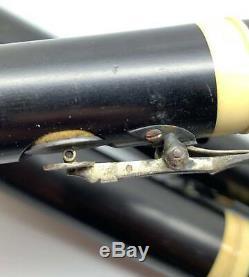 Flute Old C 1830 Ebene Sterling Silver 4 Keys Noe Freres Paris