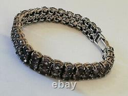 Former Bracelet Female In Silver And Stones To Identify