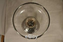 Former Cup Sterling Silver Crystal Grave Antique Solid Silver Cup Centerpiece
