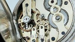 Former Gousset Watch Complications Day Hours To Revise Old Vintage Watch