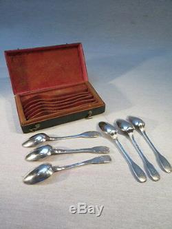 Former Lot 6 Small Farmers Genereaux Spoons Sterling Silver Rooster Jewel XVIII