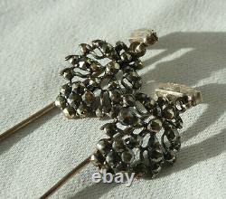 Former Pair Of Hair Pins Jewel Napoleon III Normandy Xixe
