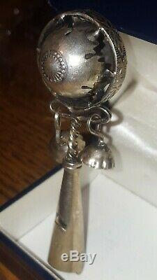 Former Rattle Baby Nineteenth Silver Boar Punch (silver 800)