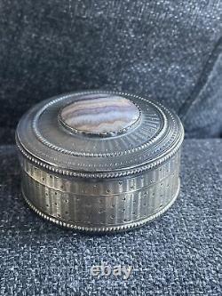 Former Silver Box Massive Poincon Boar Silver Box