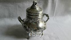 Former Silver Sugarbag Massive Punch Minerve Decorated Rocaille Louis XV
