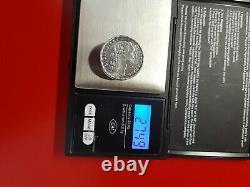 Hermes Paris Superb Old Louis XVI Pile Box In Solid Silver
