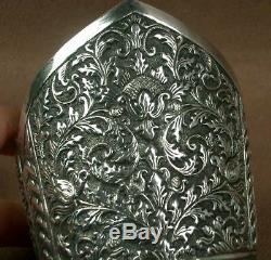 Important Ancient Cuff Bracelet In Sterling Silver China Indochina