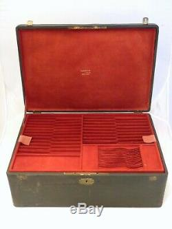 Jewel Box Safe Former Empty Cutlery Sterling Silver Christofle Napoleon III