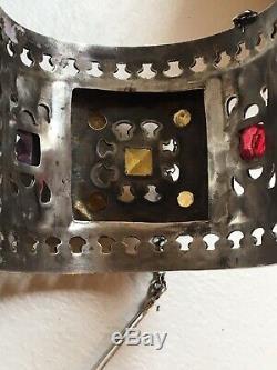 Large 154g Silver Antique Berber Bracelet Kabyle Old Sterling Silver Ethnic