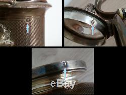 Magnificent Old Verseuse The Cafe Silver Goldsmith Odiot Monogram