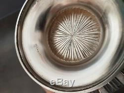 Old Big Coffee Pot Silver Louis XVI Sterling 798g Coffee