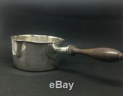 Old Casserole Sterling Silver Minerve Xixéme