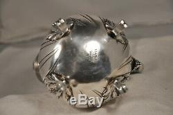 Old Coffee Maker Sterling Silver Head-to-head Lapar Antique Solid Silver Coffee Pot