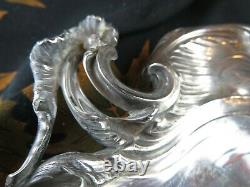 Old Ecal Cut LXV Style In Solid Silver Poincon And Foreign Epxixe Silver