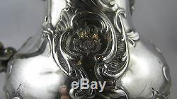 Old Milk Jug Covered Sterling Silver Poincon Minerve Nineteenth Louis XV Rocaille