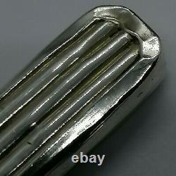 Old Necessary Silver Scissors Massif Scissors Nogent Art Deco