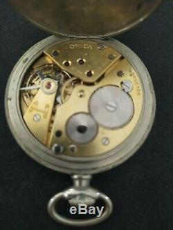 Old Pocket Watch Has Omega