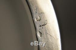 Old Porcelain Fruit Bowl Sterling Silver Antique Solid Silver Samson Centerpiec