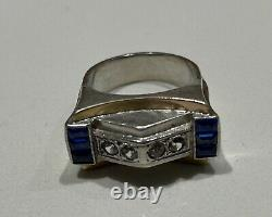 Old Ring Tank Solid Silver