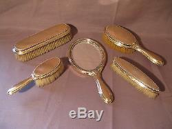 Old Set Of Toiletries Massive Style Louis XVI Silver Silversmith Bointaburet