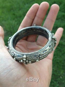 Old Silver Bracelet Yemen