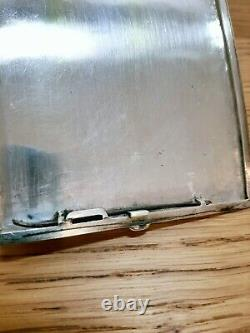 Old Silver Cigarette Case (136.1g) Old Indochina (early 20th Century)