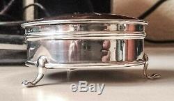 Old Silver Jewelry Box & Horton Allbay