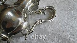 Old Silver Teapot Pourer Massive Silver Tea Pot