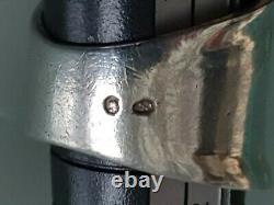 Old Solid Silver Ring Modernist/ Art Deco / Minerve Punch
