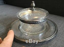 Old Sugar Crystal Silver Mount Massive Nineteenth Lagriffoul And Laval