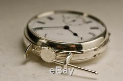 Old Watch 35mm Silver 1900 Army & Navy Silver Vintage Watch