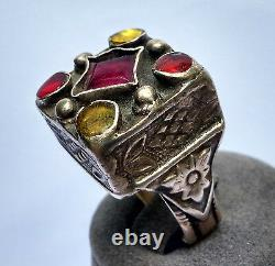Old Yemen Ring Yemen 19th Silver