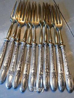 Older Cutlery A Silver Fruit Minerva
