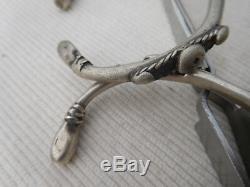 Pair Old Slave Bracelet Sterling Silver Vintage Africa Tuareg 72grs Bb37
