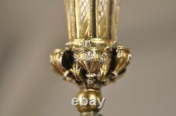 Porte Bouquet Ex Argent Massif Antique Tussie Mussie Solid Silver 18th C