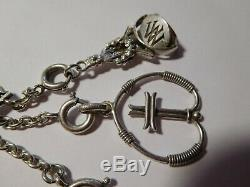 Rare Lady Of Old Watch Shows And Charms With Silver